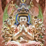 Buddha Tooth Relic -temppelissä on satoja lotuksenkukalla meditoivia Buddha-patsaita.