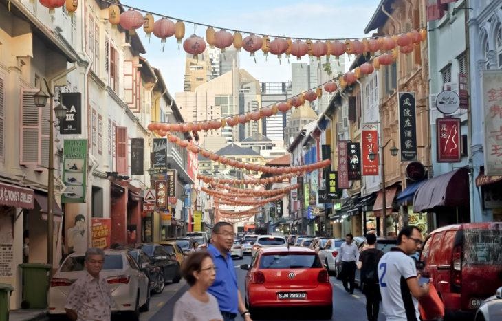 Chinatown on täynnä suosittuja ravintoloita.