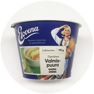 Elovena täyteläinen valmispuuro kaura-omena: 3½/5
