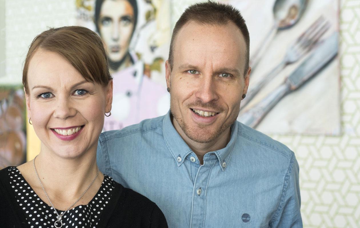 Kristiina ja Mikko Kekäläinen menivät naimisiin vuonna 2008.