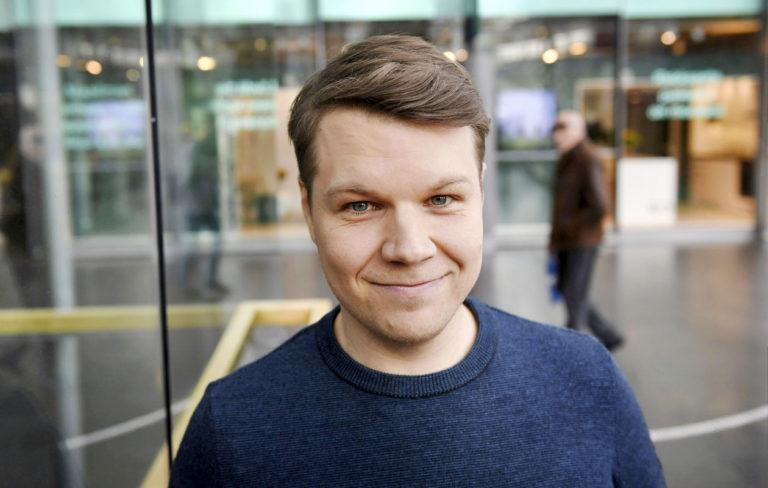 Näyttelijä Hannes Suominen Sketsijengi-sketsishown mediatilaisuudessa Helsingissä 24. syyskuuta 2018. LEHTIKUVA / ANTTI AIMO-KOIVISTO