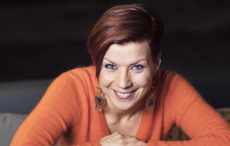 Laulaja Heidi Kyrö
