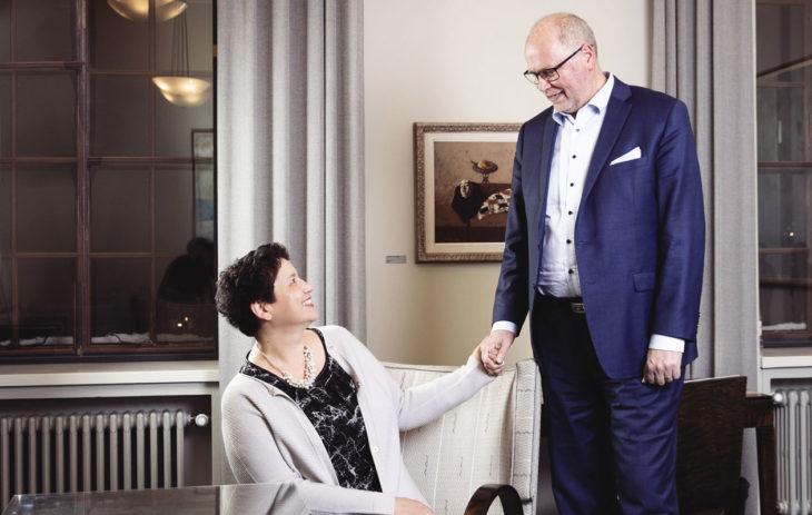 Ayla Shakir-Heinäluoma ja Eero Heinäluoma