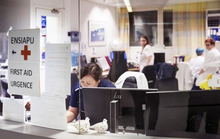 Ympärivuorokautinen lääkäripäivystys: Päivystyksen ja vuodeosaston sairaanhoitajien huone. Ennen terveyskeskuksessa oli myös synnytysosasto. Nykyisin synnytykset hoidetaan Rovaniemen keskussairaalassa. Omassa kunnassa on edelleen kätilöitä.