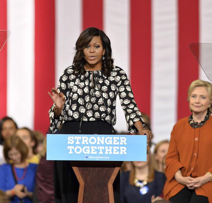 Michelle Obama ja inspiroivat sitaatit