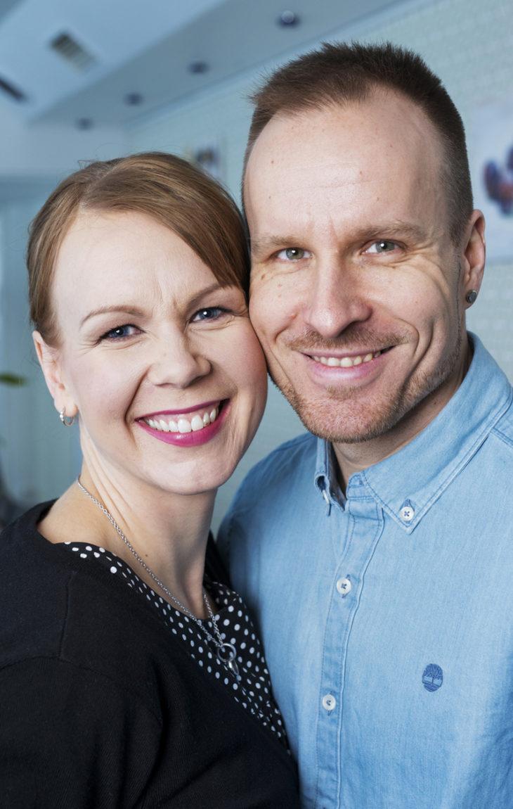Mikko Kekäläinen ja Kristiina Kekäläinen