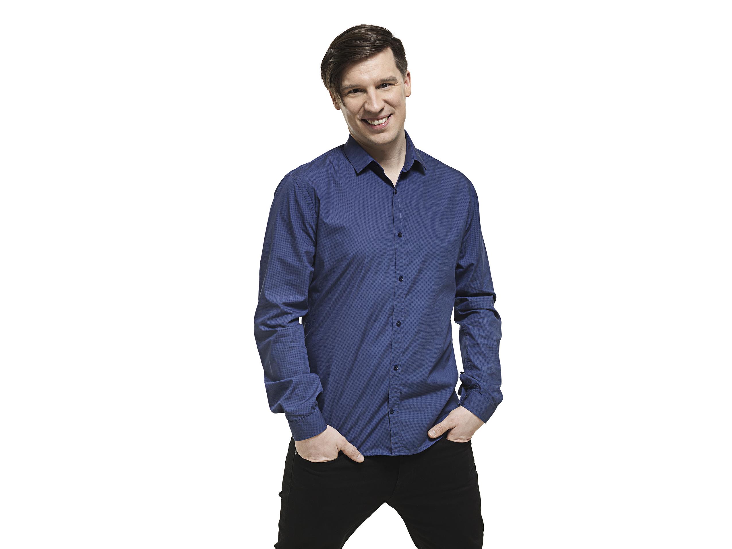Uutta Putous-kautta tähdittävä Mikko Virtanen, 35, pitää vahvuutenaan sitä, että häntä ei juurikaan hävetä.