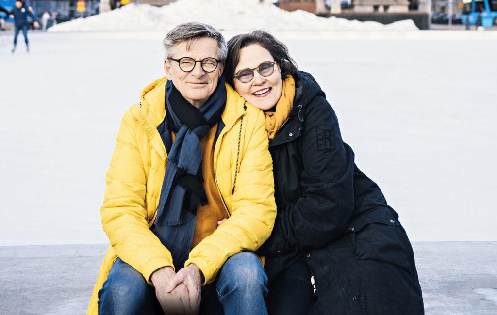Eppu oli 23-vuotias ja Kurre 45-vuotias, kun pari tapasi toisensa ensi kertaa. Kaikki oli selvää alusta asti, Eppu kuvailee.
