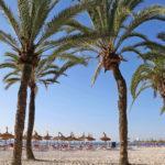 Cala Majorin ranta on vain vartin ajomatkan päässä Palman kaupungista.