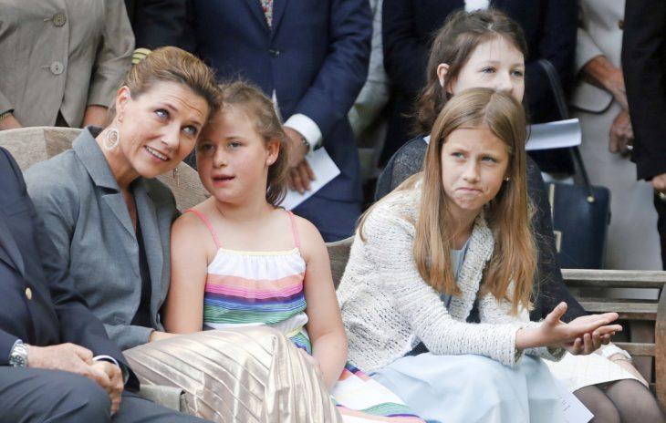 Prinsessa Märtha Louise ja tyttäret Maud, Leah ja Emma