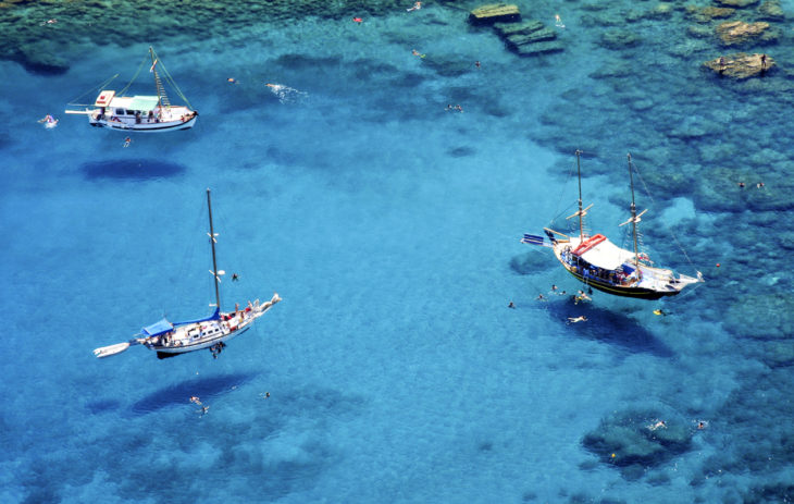 Kreikka on varma kohde, ainakin, jos haluaa, että sää on aurinkoinen ja lämmin!