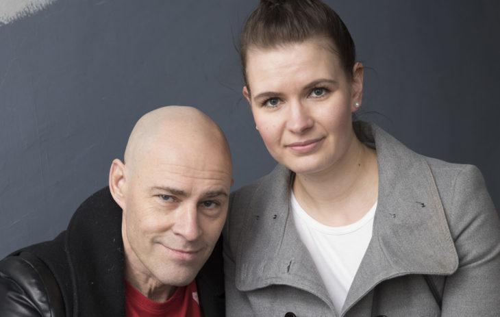 Jussi Rainio ja tytär Jenni Rainio