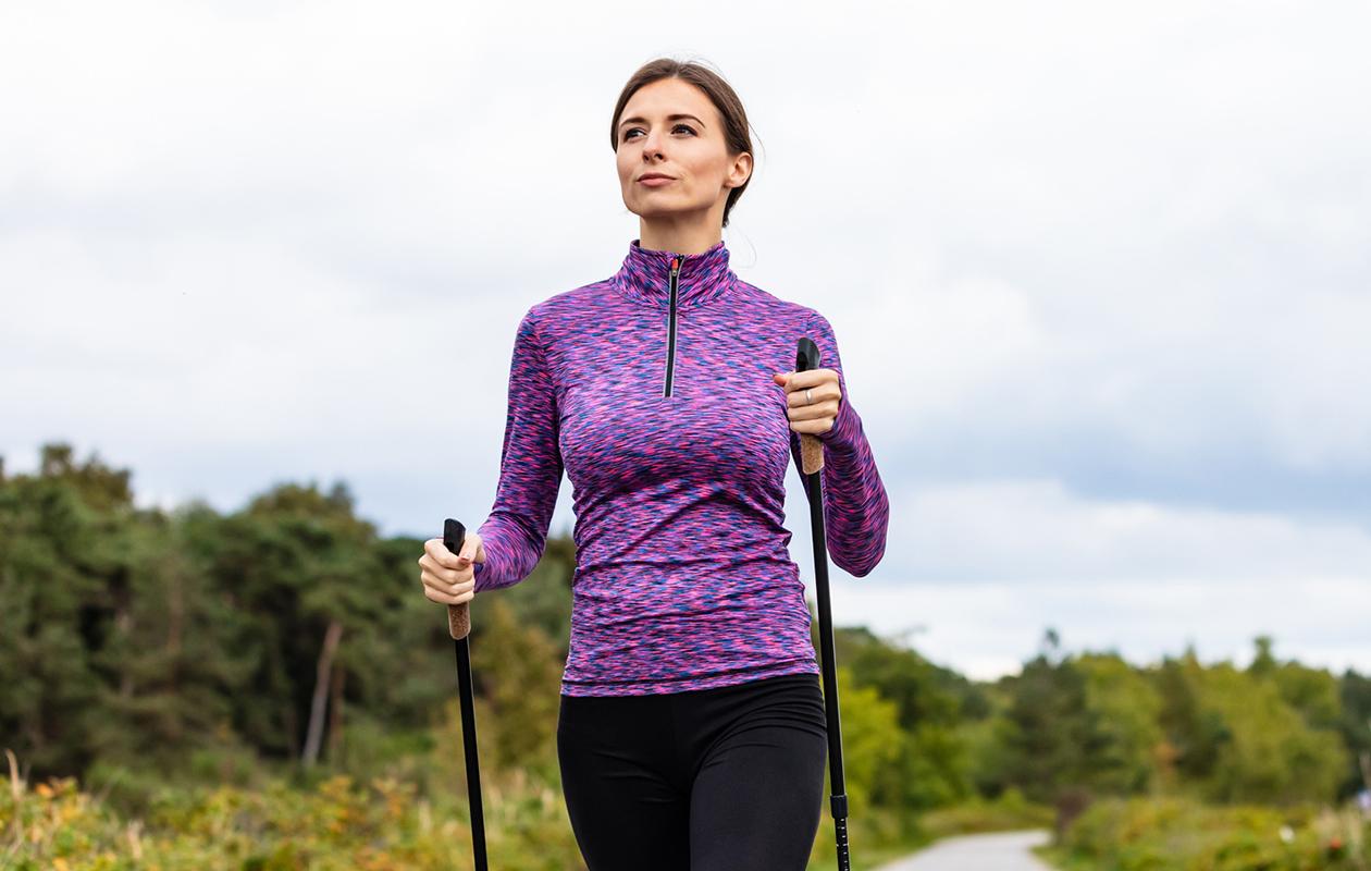 Pumppusauvatreeni sopii monelle. Bungypump-sauvat ovat tehokkaat kävelysauvat.