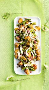 paahdettu parsa-perunasalaatti