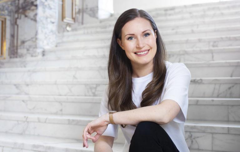Sdp:n kansanedustaja Sanna Marin