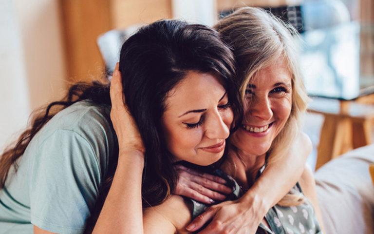 Mistä olet kiitollinen äidillesi?