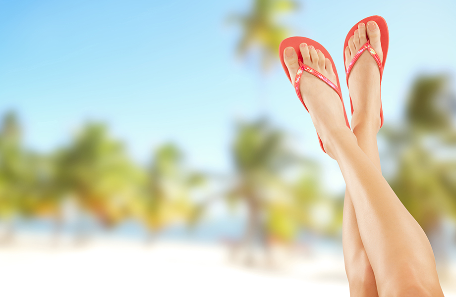 Kuvitus kuva - Kärsitkö kynsisienestä? Näillä vinkeillä saat jalat nopeasti kesäkuntoon!