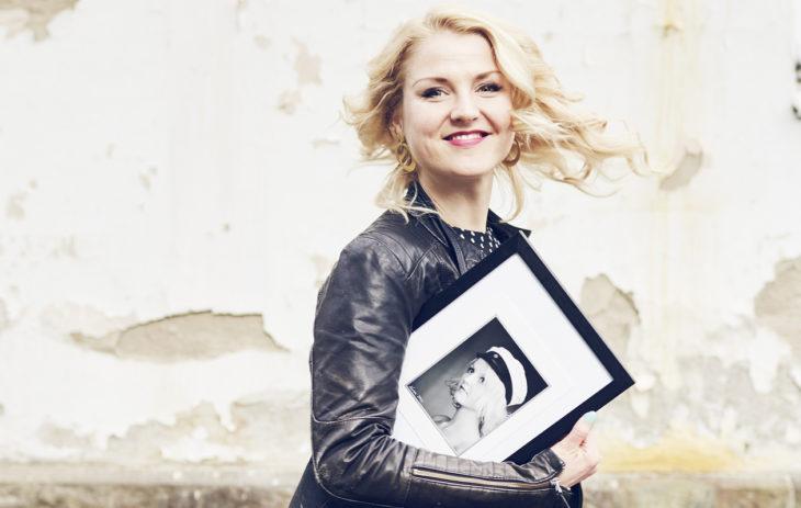 Näyttelijä Helmi-Leena Nummela