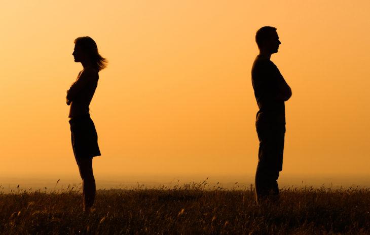 Joskus uusi suhde etenee siihen pisteeseen, että ero on ainoa järkevä ratkaisu.