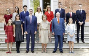 Espanjan kuningasperhe, kuningas Felipe, kuningatar Letizia