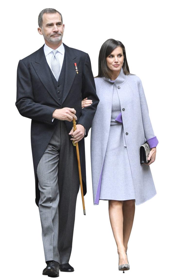 Kuningas Felipe VIja hänen vaimonsa kuningatar Letizia ovat järki-ihmisiä.