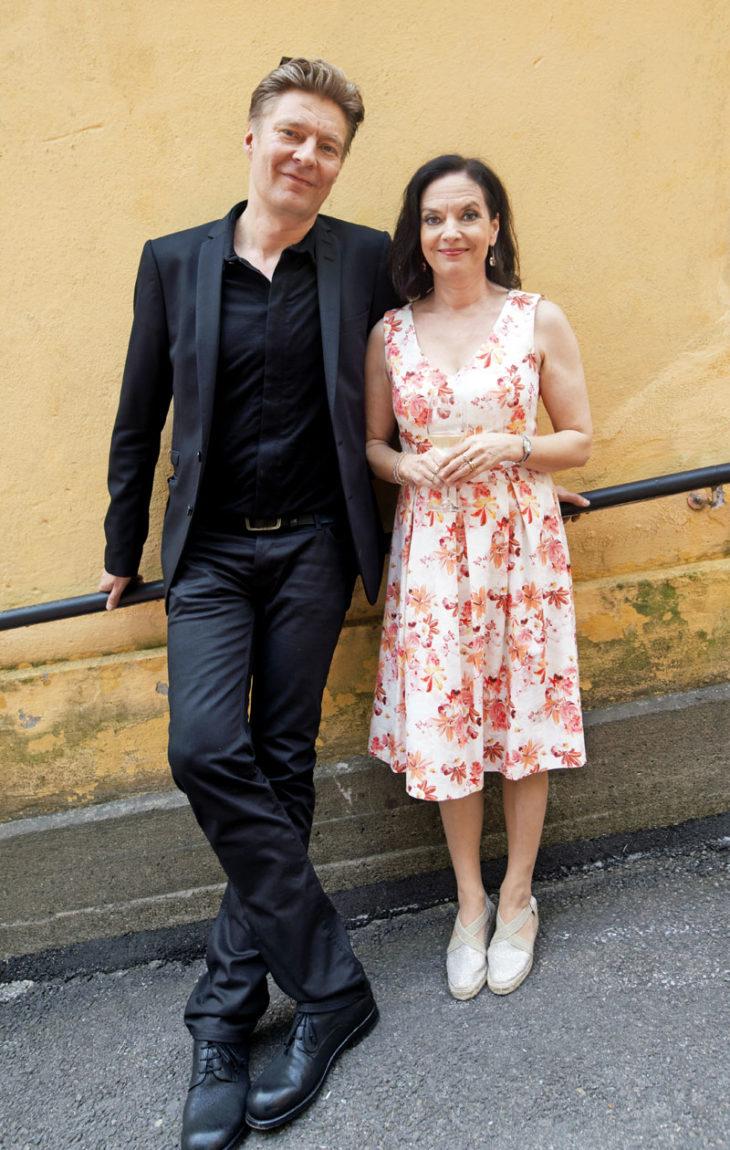 Riku Korhonen ja Anna-Leena Härkönen ovat olleet yhdessä 13 vuotta.