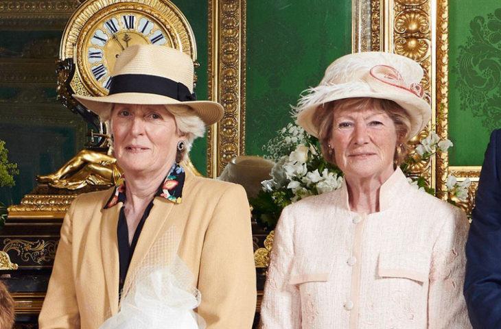 Lady Jane Fellowes ja Lady Sarah McCorquodale.