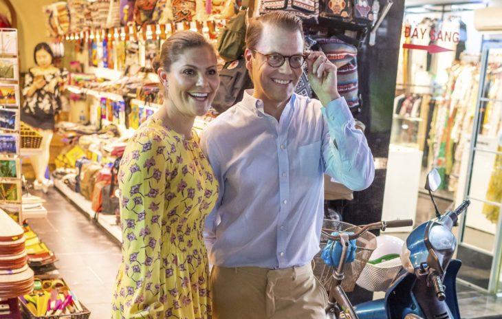 Kruununprinsessa Victoria ja prinssi Daniel Vietnamissa