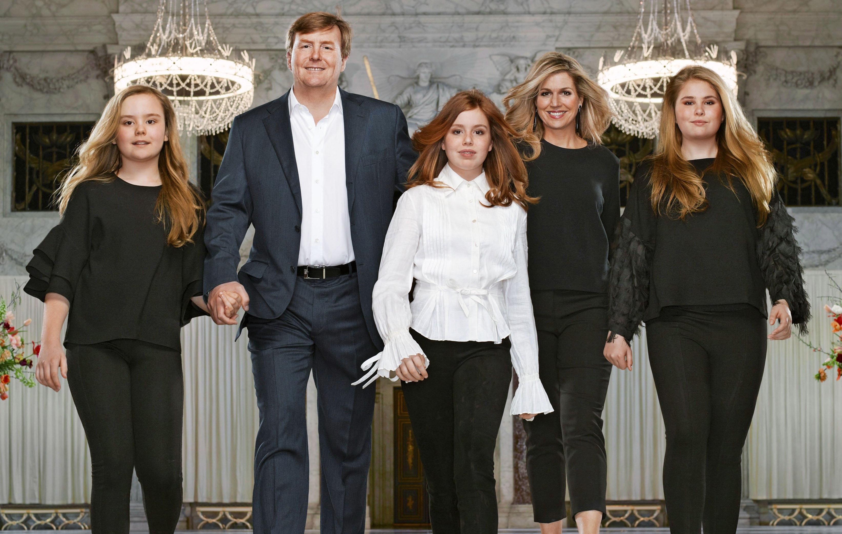 Hollannin kuningasperhe, kuningas Willem-Alexander, kuningatar Máxima