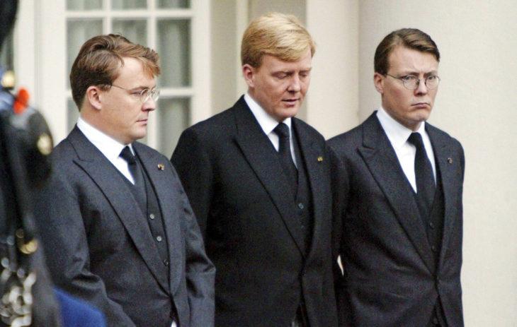 Hollannin prinssit Friso, Willem-Alexander ja Constantijn