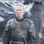 Tarthin Brienne (Gwendoline Christie) on Game of Thrones -sarjan ritari.