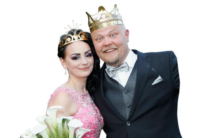 Vuoden 2019 tangokuninkaalliset ovat Pirita Niemenmaa ja Johannes Vatjus