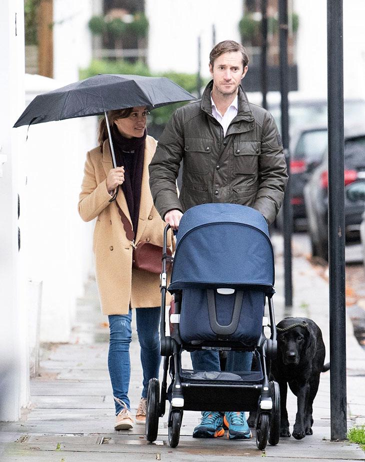 Pippa ja aviomies James eivät ole vielä esitelleet nyt puolivuotiasta Arthur-poikaansa virallisesti julkisuudessa.
