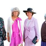 Prinsessat Christina (vas.), Birgitta ja Désirée juhlivat veljentyttärensä Victorian 40-vuotispäiviä kesällä 2017. Prinsessa Margaretha (oik.) on sisaruksista vanhin ja asuu Englannissa, Oxfordshiressa Lontoon ulkopuolella. Huhtikuussa 2016 hän osallistui pikkuveljensä, kuningas Kaarle XVI Kustaan 70-vuotispäivien juhlallisuuksiin Tukholmassa.