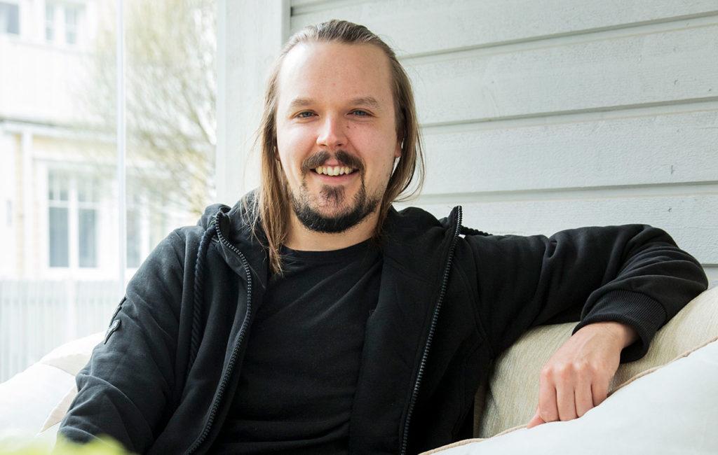 Jukka Pojan ja hänen vaimonsa Teija Stormin Esko-vauva syntyi alkukesästä.