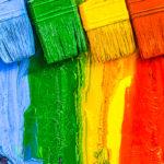 Persoonallisuustyyppejä kuvataan neljän värin avulla: punaisella, keltaisella, vihreällä ja sinisellä.