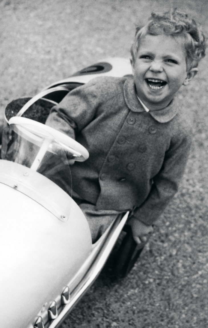 Ruotsin prinsessat: Kaarle Kustaa 3-vuotiaana.