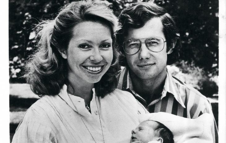 Ruotsin prinsessat: Nuorin siskoista, prinsessa Christina ja tämän puoliso Tord Magnuson saivat esikoisensa Gustafin 1975.