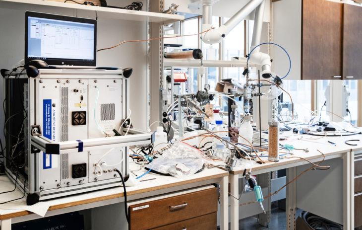 Ilmatieteen laitoksen laboratorio