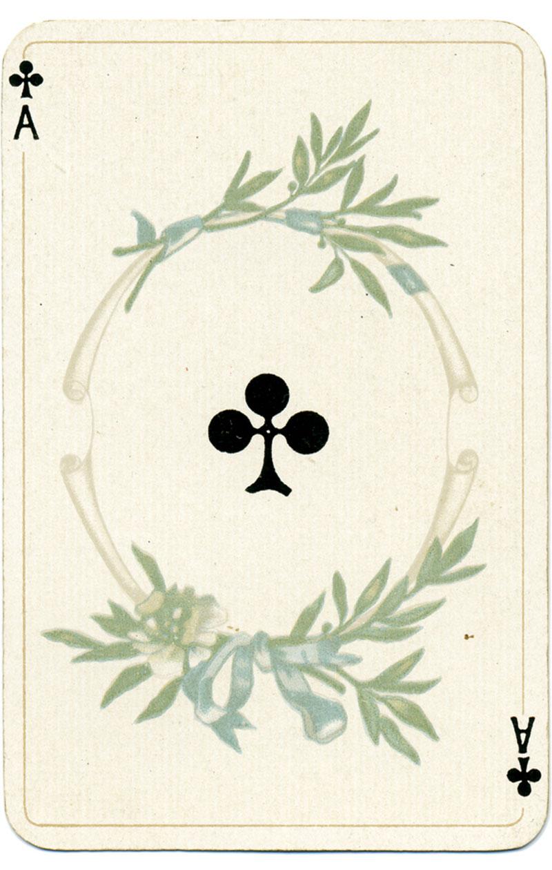 pelikorteilla ennustaminen, risti