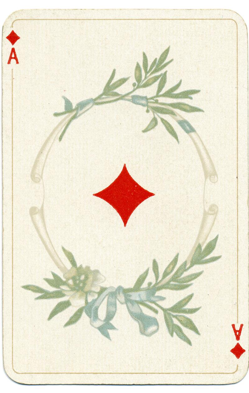 pelikorteilla ennustaminen, ruutu