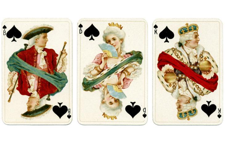 pelikorteista ennustaminen