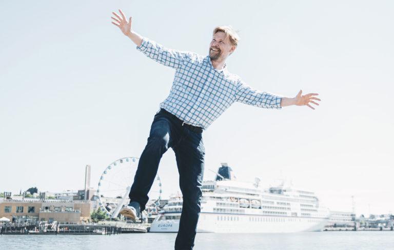 – Laitan ylpeänä perheelle ruokaa itse hankitusta riistasta. Se tuntuu miehekkäältä ja tyydyttää vahvasti, Syke-näyttelijä Matti Ristinen sanoo.