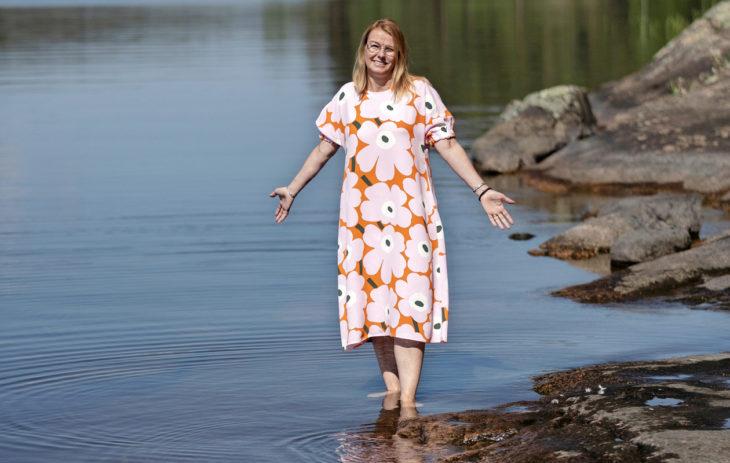 Uupumus ajoi Riitta Mähösen tekemään muutoksia elämäänsä.