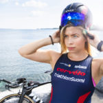 Pyöräily on espoolaiselle Mirka Vahteralle mieluisin triathlonin kolmesta lajista.