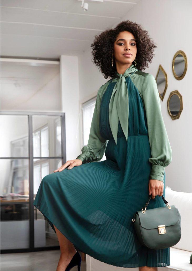Vihreä on syksyn yksi halutuin trendiväri.