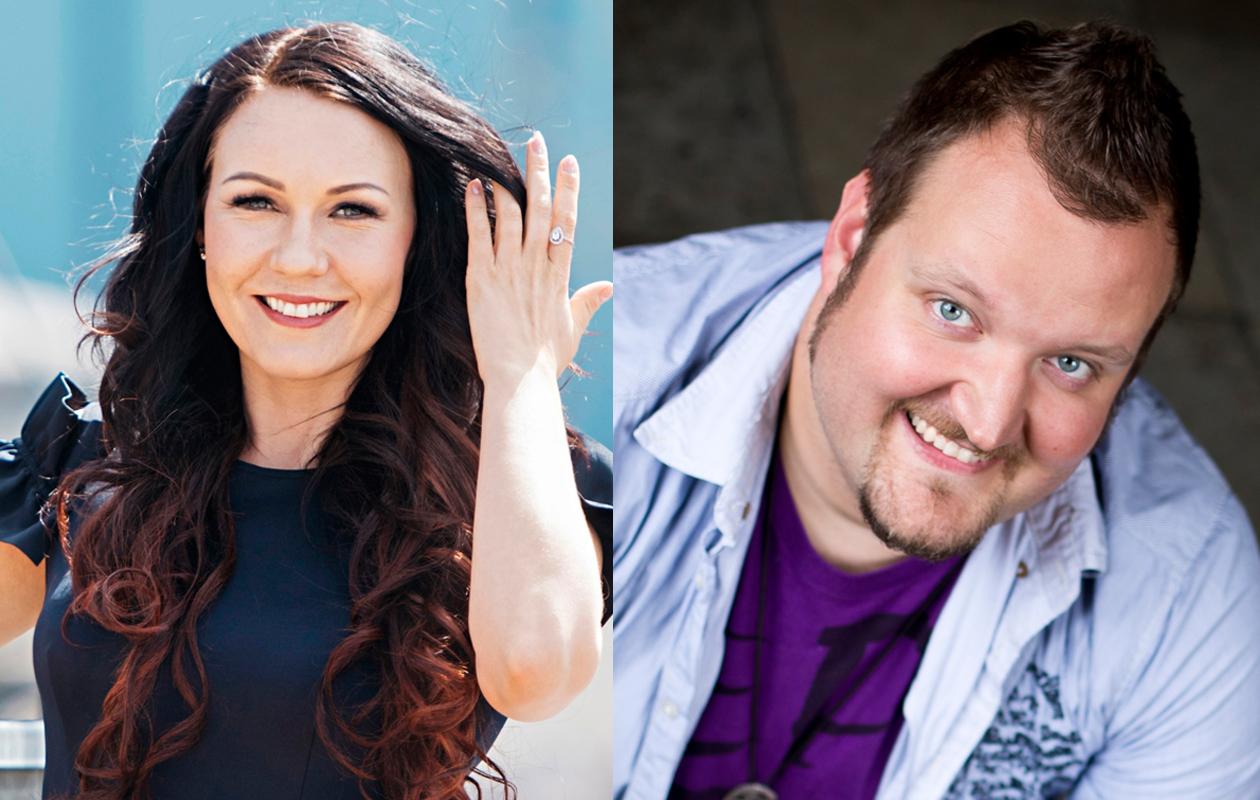 Saija Tuupanen ja Sami Hedberg ovat pariskunta.