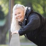 Henriikka Pitkänen haluaa elämänmuutoksensa myötä auttaa myös muita voimaan paremmin.
