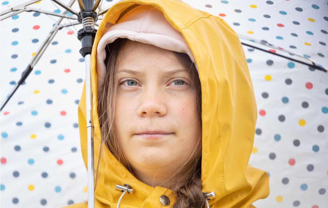 Greta Thunerg on nuori ilmastoaktivisti.