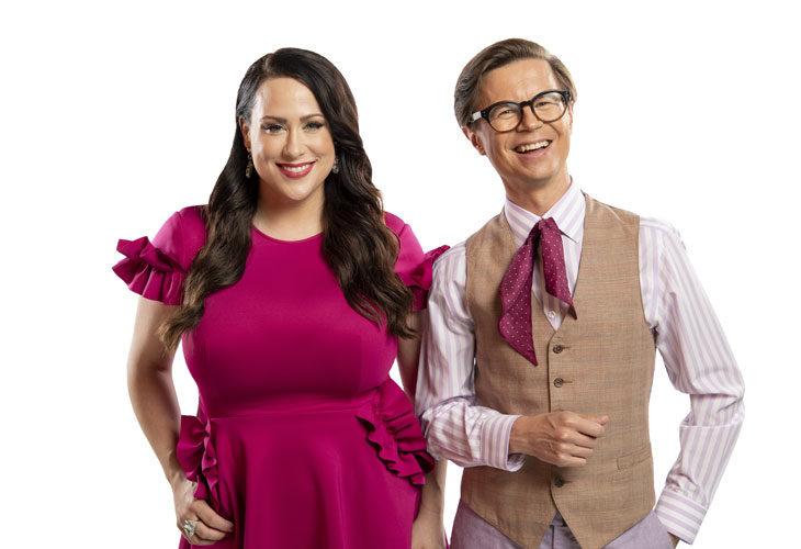 Sami Sykkö ja Niina Kuhta tähdittävät Say Yes To The Dress -sarjaa.